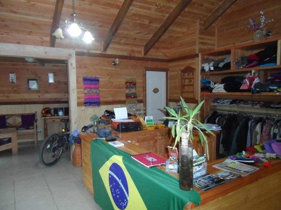 Hostel Pucon Sur : Recepção