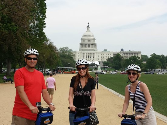 Bike and Roll DC Segway Tours