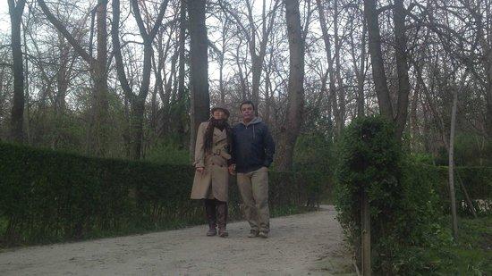 Retiro Park (Parque del Retiro): jardim