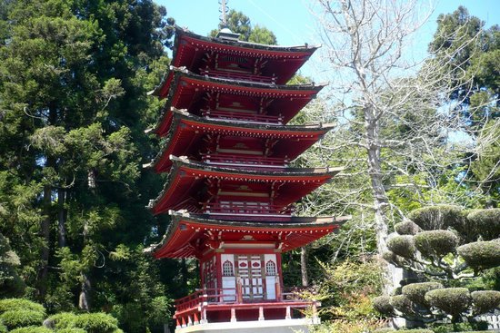 Golden Gate National Recreation Area : Pagoda