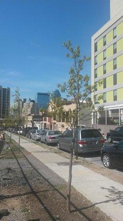 Holiday Inn L.I. City - Manhattan View: Vizinhanças do hotel.