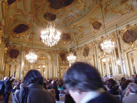 Foz Palace: Sala dos Espelhos