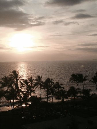 Andaz Maui At Wailea: View from our upgraded room on the 7th floor