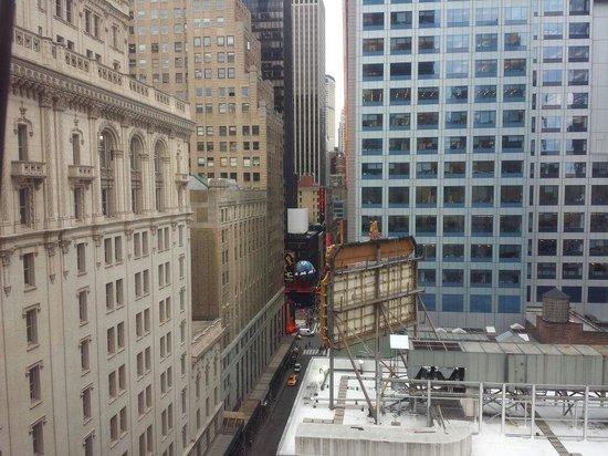 Hotel Carter : Vista do meu quarto.