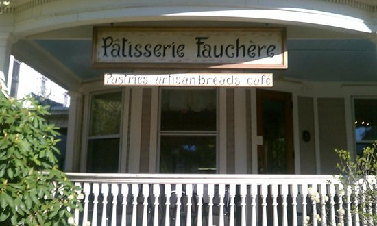 Patisserie Fauchere: Signage out front