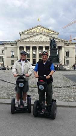 City Segway Tours Munich : Brian and Ed