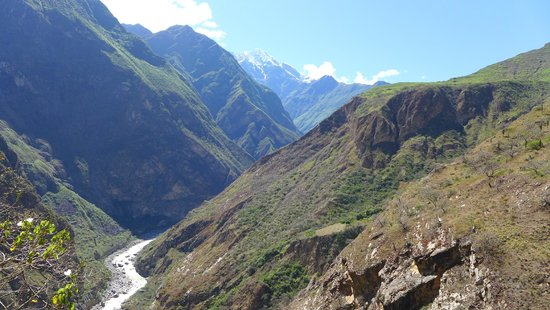 Choquequirao: Nevados y cañón del Apurimac