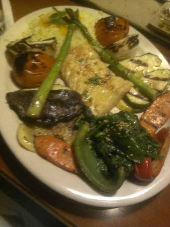 Mezza Grille: Yummy veggies
