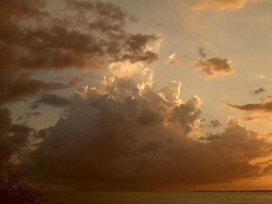 At Sea: widok z mojego miejsca na niebo nad Bonaire