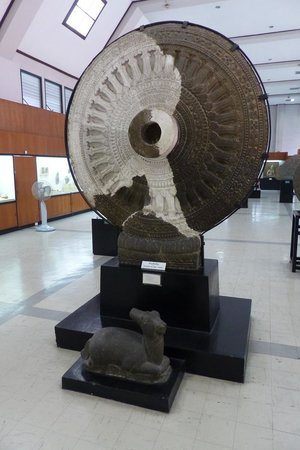 The National Museum Bangkok: Law Wheel at The National Museum