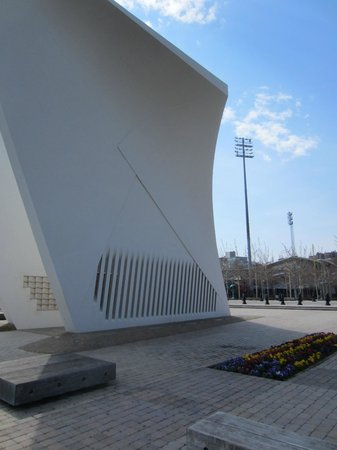 Postcards-The The Staten Island September 11 Memorial: The memorial consists of two walls that resemble curved wings