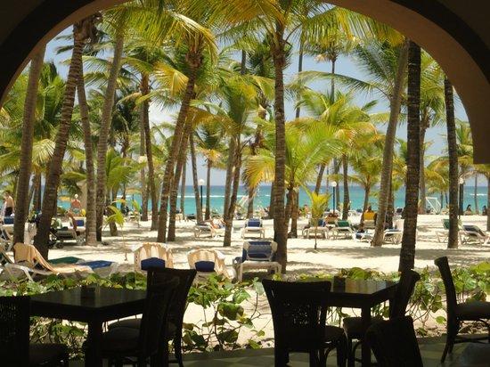 ClubHotel Riu Bambu: vista desde el restaurante
