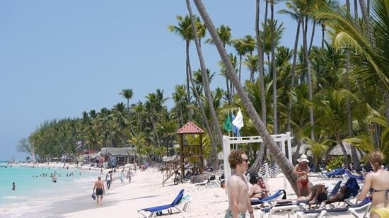 Grand Palladium Punta Cana Resort & Spa : Bavaro beach