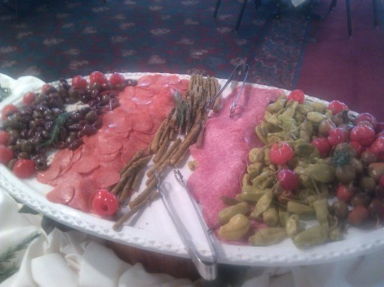 Crossings At The Riverhouse: charcuterie