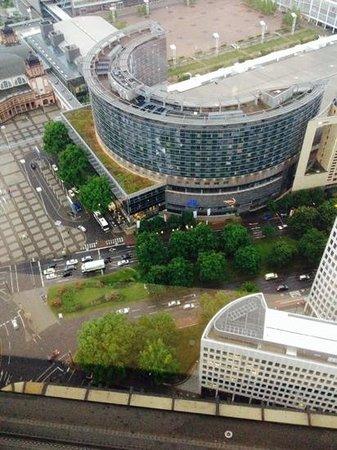 Frankfurt Marriott Hotel: vista desde piso 41