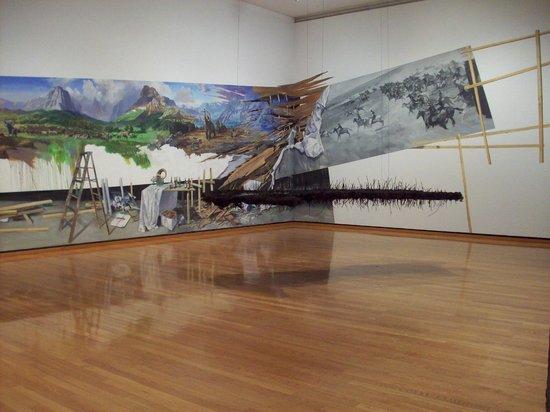 Johnson Museum of Art : wall mural