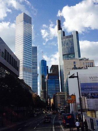 Frankfurt Marriott Hotel: centro de frankfurt