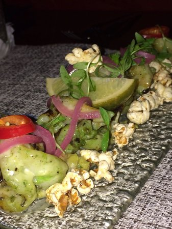 Marmalade Restaurant & Wine Bar: Popcorn shrimp!