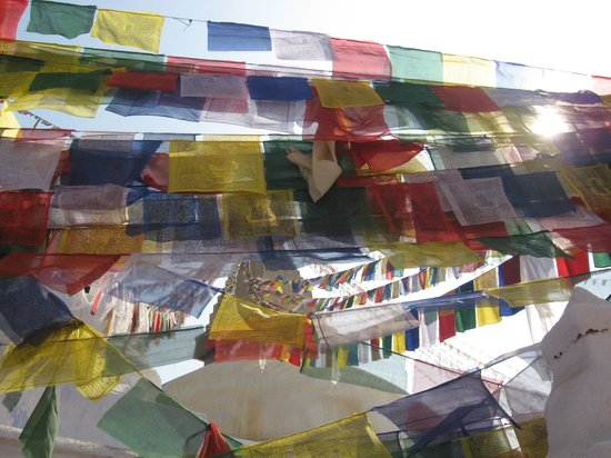 Estupa budista de Boudhanath: Prayer flags