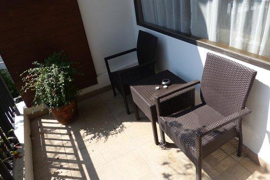 Sala Arun: Private terrace