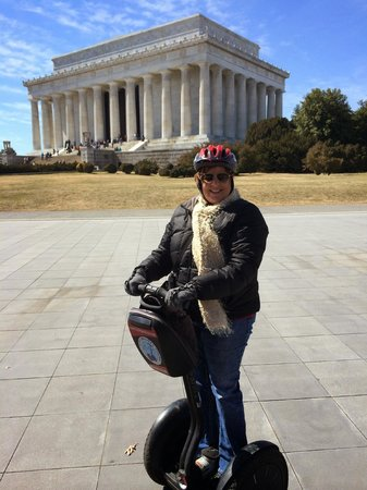 City Segway Tours of Washington, DC : Departing from the Lincoln Memorial