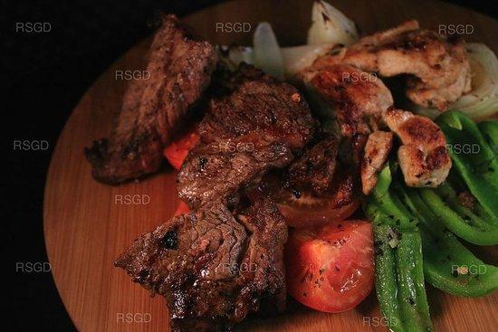 Ramseys Steak and Grill Delivery: Chicken & Steak Kabobs