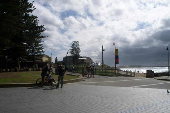 Cronulla Beach Walk: Looking towards Wanda and Elura beaches