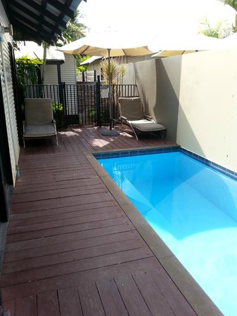The Pearle of Cable Beach: Pavilion private pool