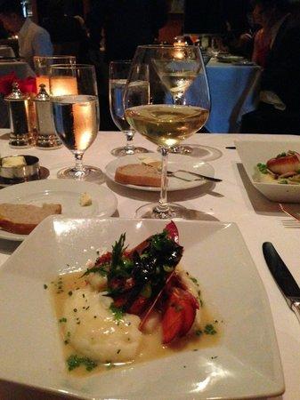 Restaurant Gary Danko: Lobster with potatoes. Yum