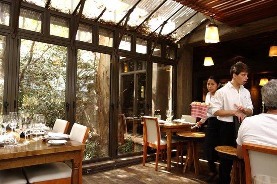 Casa del Visitante - Familia Zuccardi: Restaurante