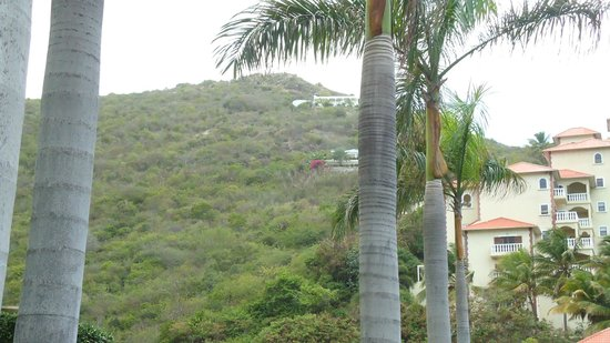 Princess Heights Hotel : View from of the homes in the hills above Princess Heights