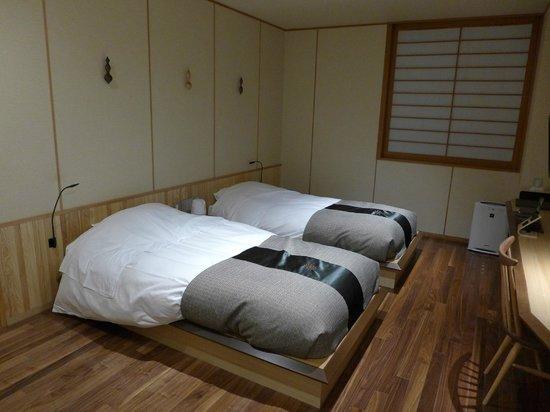 Niseko Konbu Onsen Tsuruga Besso Moku no sho: Bedroom