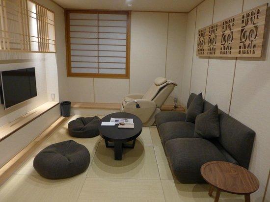 Niseko Konbu Onsen Tsuruga Besso Moku no sho: Living room