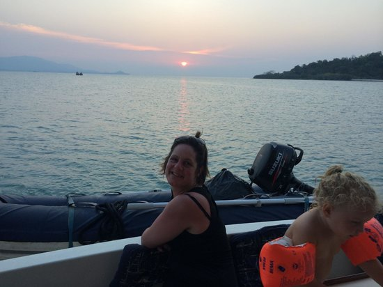 Thai Island Cruising: Sunset on an amazing day