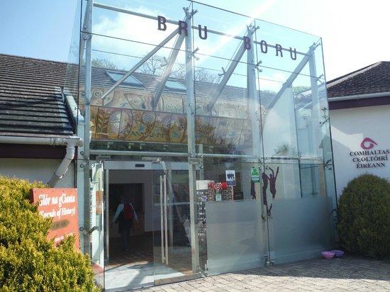 Bru Boru Cultural Centre: Entry way to Bru Boru Museum