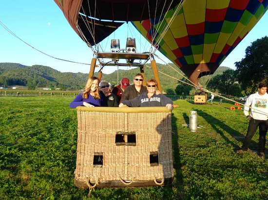 Balloons Above the Valley: Loading up!