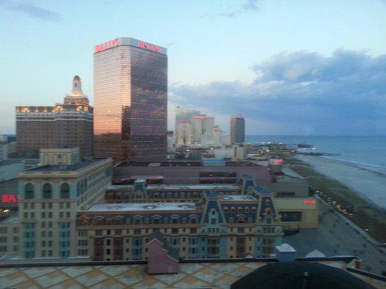 Caesars Atlantic City: View