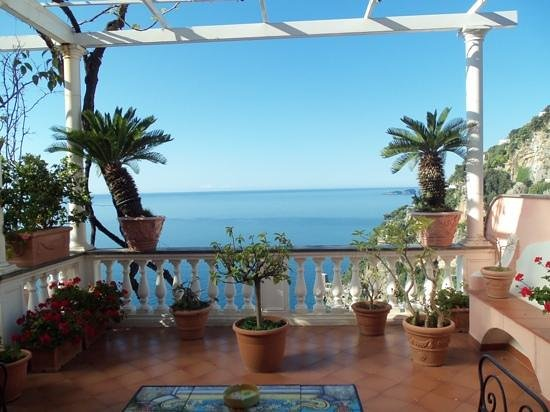 Hotel Villa Gabrisa: view from the terrace of room 6