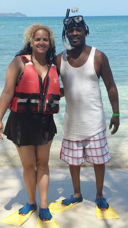 Sunscape Splash Montego Bay : Time to snorkel