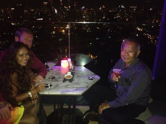 SO Sofitel Bangkok : Roof top bar it's awesome .