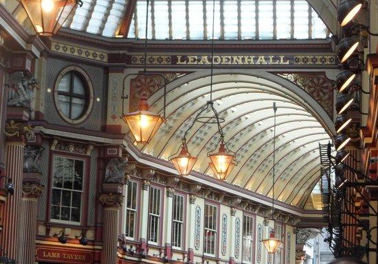 Leadenhall Market : su magnifico techo