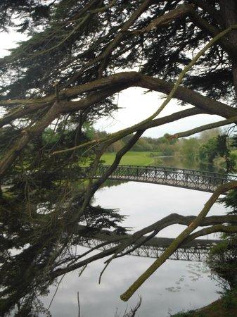 Adare Manor: River behind hotel