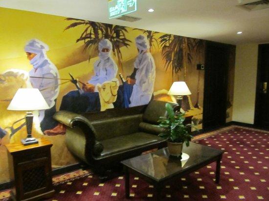 Arabian Courtyard Hotel & Spa: Hall