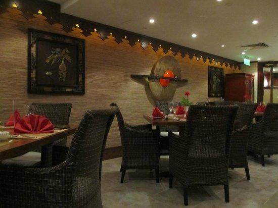 Arabian Courtyard Hotel & Spa: Silk route - chinese restaurant