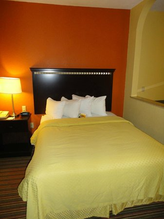 Quality Suites North: Bed I
