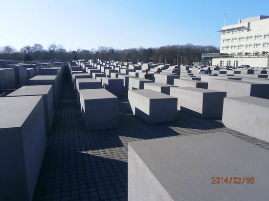 Berlin City Tour - City Sightseeing: Memorial to Jews who died