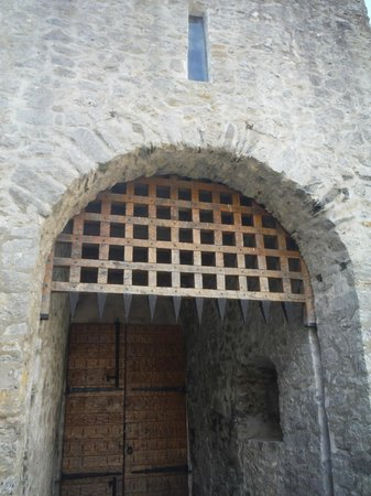 Old Franciscan Friary: inside of front door