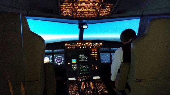 DASA: cockpit simulator