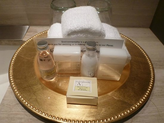 L'Hermitage Hotel: I like the body lotion very much