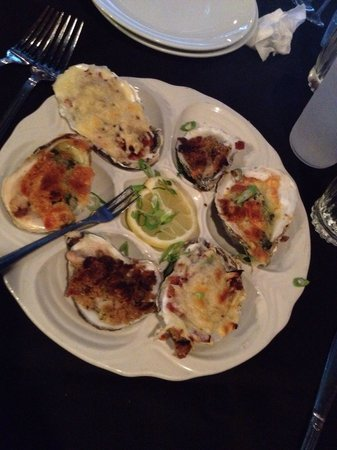 Emily's Restaurant: Oysters sampler $10.00.